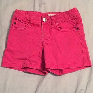 Hot pink shorts